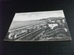 LIGURIA STAZIONE FERROVIARIA CAVI DI LAVAGNA I BAGNI FERROVIA D'ARZIGLIA - Gares - Sans Trains