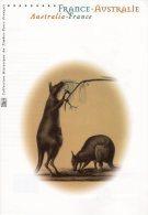 """"""" FRANCE - AUSTRALIE """"  Sur Document Philatélie Officiel De 2002 (4 Pages) N° YT 3476 3477. DPO - Emissions Communes"""