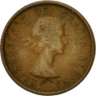 Monnaie, Canada, Elizabeth II, Cent, 1957, Royal Canadian Mint, Ottawa, TTB - Canada