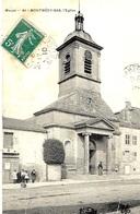 41- MONTMEDY -BAS , L'Eglise  -ed Tesson - Montmedy
