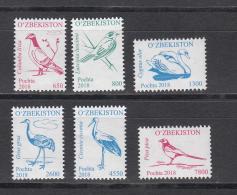 Uz 1209 XUzbekistan Usbekistan 2018  Birds Definitv IV M - Uccelli
