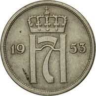 Monnaie, Norvège, Haakon VII, 10 Öre, 1953, TTB, Copper-nickel, KM:396 - Norvège