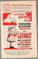 Saulzais Le Potier (18 Cher) Dépliant Du GATINAIS CLUB FRANCAIS (volailles) (PPP9054) - Advertising