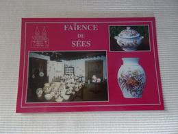 Carte Postale Faïencerie De Sées - Sees