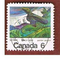 "CANADA - SG 674  - 1971   PAINTINGS: ""BIG RAVEN""                                      -  USED - 1952-.... Règne D'Elizabeth II"
