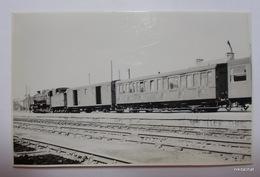 Train En Gare De PAIMPOL-Photographie 14/9 Cm - Paimpol