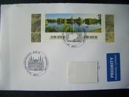 Germany, Used Letter, 2018, Berlin, Garden, Lake, - [7] Federal Republic