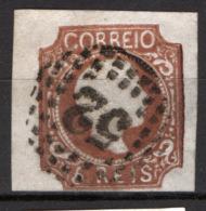 Portogallo 1856 5r. Unif.9 O/Used VF/F - 1855-1858 : D.Pedro V