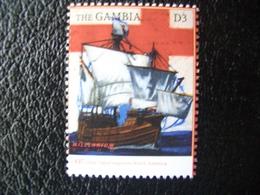 Gambia, Millennium, John Cabot, Explorer, Ship, Famous People, 2000 - Gambia (1965-...)