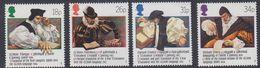 Great Britain 1988 Welsh Bible 4v ** Mnh (39919) - 1952-.... (Elizabeth II)
