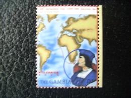Gambia, Millennium, Bartalomeu Dias, Explorer, Famous People, Map, 2000 - Gambia (1965-...)