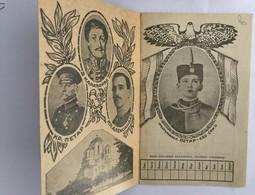 STUDENT  ID   1933/1934.  KINDOM OF YUGOSLAVIA   KING PETAR  KING ALEKSANDAR    ROYAL FAMILY - Historical Documents