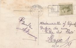 045/27 - JEUX OLYMPIQUES ANVERS 1920 - Carte-Vue TP Casqué 2 C Cachet Mécanique J.O ANVERS 6 - Catalogue COB 125 EUR S/l - Summer 1920: Antwerp