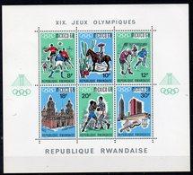 RWANDA  Timbres Neufs ** De 1968   ( Ref 491B )  Sport - JO - Rwanda