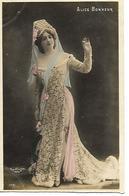 Carte 1908 / ALICE BONHEUR /ARTISTE /  REUTLINGER Paris /    N°1731 - Artistes