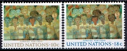 UNITED NATIONS # NEW YORK FROM 1974 STAMPWORLD 267-68* - New York -  VN Hauptquartier