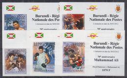 H22. Burundi - MNH - Famous People - Deluxe - Célébrités