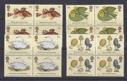 Great Britain 1988 The Linnean Society  4v Bl Of 4 ** Mnh (39919A) - 1952-.... (Elizabeth II)