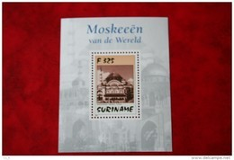 Surinam / Suriname 1997 Minisheet Mosques Moskee (ZBL 946 Mi 1614  Bl. 70  Sc -) POSTFRIS / MNH ** - Suriname