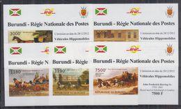H22. Burundi - MNH - Transport - Deluxe - Imperf - Transport