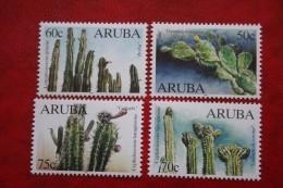 Cactussen Kaktussen NVPH 224-227 1999 MNH / POSTFRIS   ARUBA - Curacao, Netherlands Antilles, Aruba