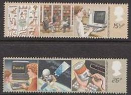 Great Britain 1982 Information Technology 2v ** Mnh (39920) - 1952-.... (Elizabeth II)