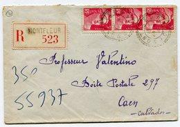 JURA De  MONTFLEUR Env. Recom. De 1946 Avec Dateur B 3 - Marcophilie (Lettres)