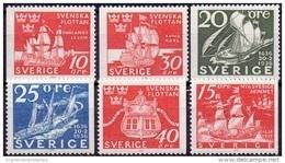 ZWEDEN 1966 Schepen PF-MNH - Neufs