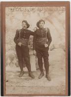 Photo Originale Militaria Chasseurs Alpins Baillonette - Baïonnettes 159 ème Briançon - Guerre, Militaire