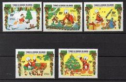 TURQUES Et CAIQUES     Timbres Neufs ** De 1984   ( Ref 504A )  Disney - Donald 50ème Anniversaire - Turks And Caicos