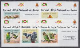 H22. Burundi - MNH - Animals - Birds - Deluxe - Imperf - Birds