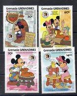 GRENADE GRENADINES     Timbres Neufs ** De 1985   ( Ref 504B )  Disney - Frères Grimm - Grenada (1974-...)