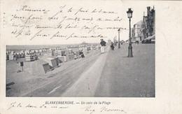 BLANKENBERGE / UN COIN DE LA PLAGE   1907 - Blankenberge