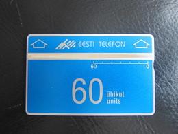 L&Gyr Phonecard, First Issued,code 312C,mint - Estonia