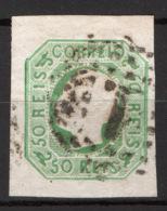 Portogallo 1862 50r. Unif.16 O/Used VF/F - Usati