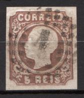 Portogallo 1862 5r. Unif.13a O/Used VF/F - Usati