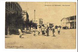 CPA - Cartes Postale - Djibouti -Djibouti - Rue Gambetta -  S1748 - Djibouti