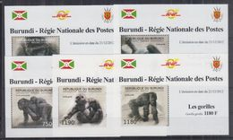 H22. Burundi - MNH - Animals - Deluxe - Stamps