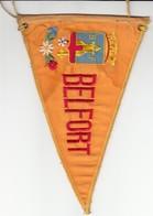 Rare FANION BELFORT - TERRITOIRE 90 - ORANGE - Obj. 'Remember Of'