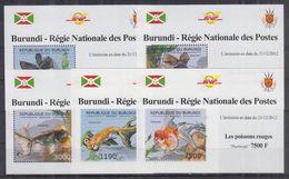 H22. Burundi - MNH - Marine Life - Deluxe - Marine Life
