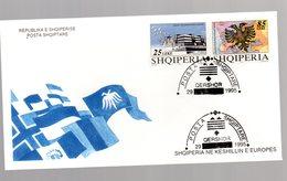 Albanien, FDC. Mi.-Nr. 2567-68 - Albanien