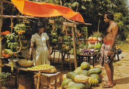 SRI LANKA (CYLON) FRUIT AND VEGETABLE STALL  VIAGGIATA - Sri Lanka (Ceylon)