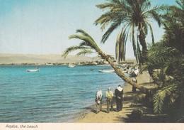 GIORDANIA  AQABA THE BEACH  VIAGGIATA - Jordan
