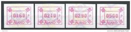 Aland 1993 Timbres De Distributeurs Série N°5c Non Cotée Yvert - Aland