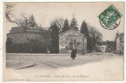 21 - BEAUNE - Entrée De Ville, Rue Du Château - 1907 - Beaune