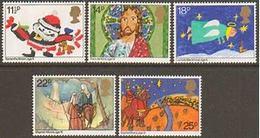 Great Britain 1981 Christmas 5v ** Mnh (39920A) - 1952-.... (Elizabeth II)