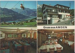 Gruss Aus Amden - Hotel Restaurant Schäfli - Photo: Gross - SG St. Gall