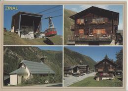 Zinal - Luftseilbahn - Photo: Yves Vouardoux - VS Valais