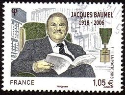 Oblitération Cachet à Date Sur Timbre De France N° 4754 - Personnage - Jacques Baumel - France