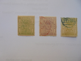 CHINE ANCIENNE :1+3+5 CANDARINS (PETITS FORMATS)-NEUF*+OBLITERES CHARNIERES (1) - Used Stamps